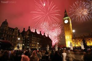 Silvestr 2014 Londýn