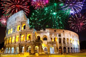 Silvestr 2014 Řím