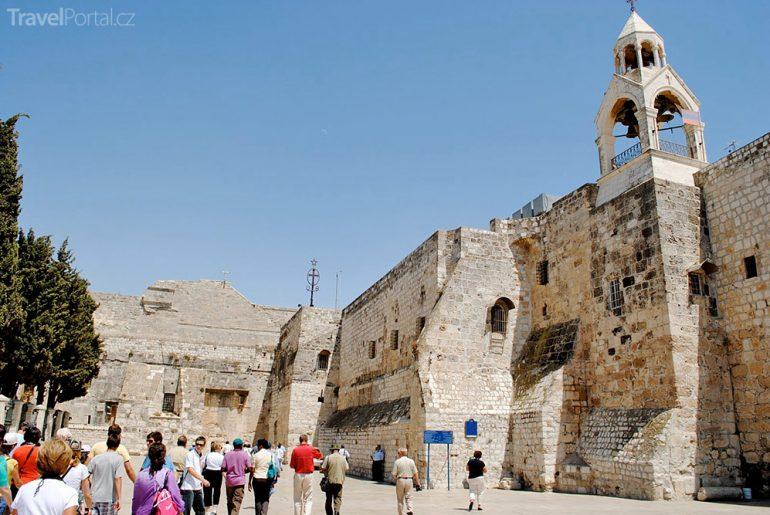 chrám Narození Páně Betlém