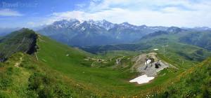 okolí Chamonix