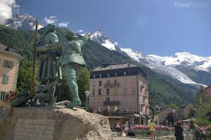 Francie hory