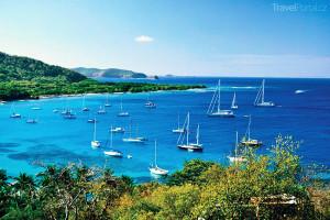 Jachty Grenadiny