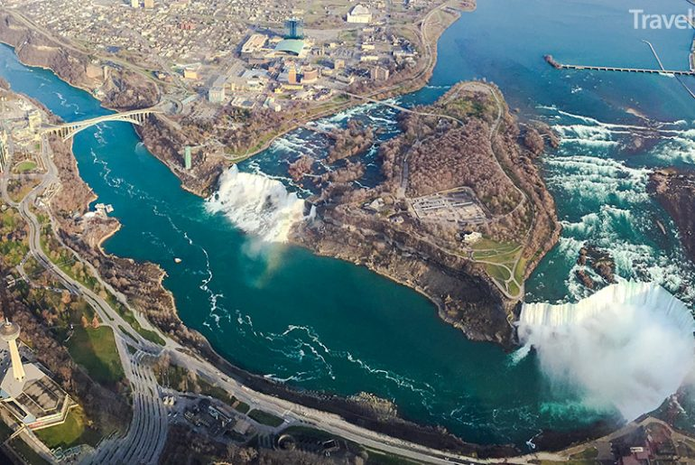 Niagara v zimě
