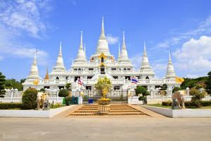 Wat Asokaram pagoda