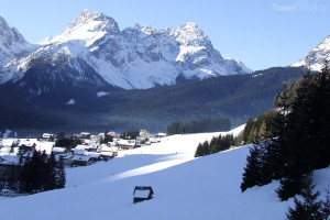 Sappada lyžování