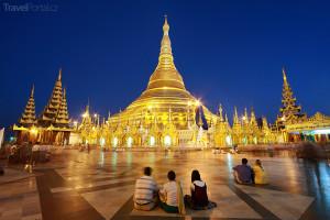 Zlatá pagoda Barma