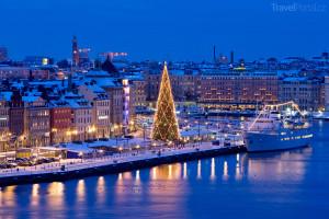 Vánoce Stockholm