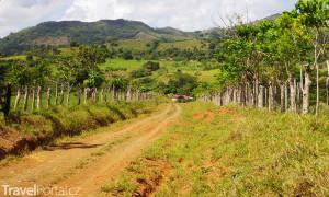 vnitrozemí Dominikánská republika