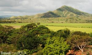 pohled do vnitrozemí Dominikánská republika