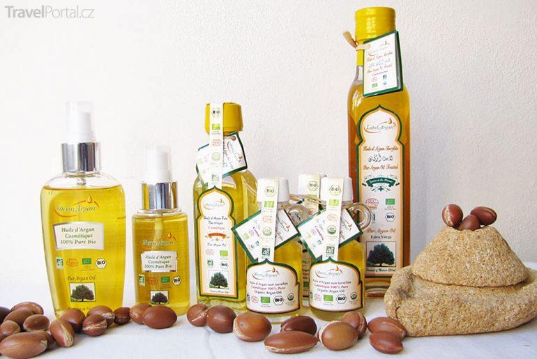 arganový olej Maroko