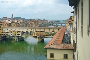 Most zlatníků Florencie