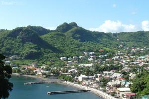 přístav Grenadiny
