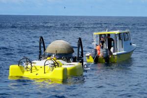 ponorka Triumph příprava na ponor