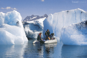 Aljaška ledové kry