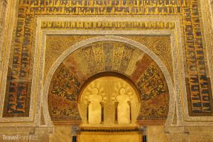 výzdoba katedrály v Córdobě