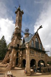 hrad v San Isabel Forest