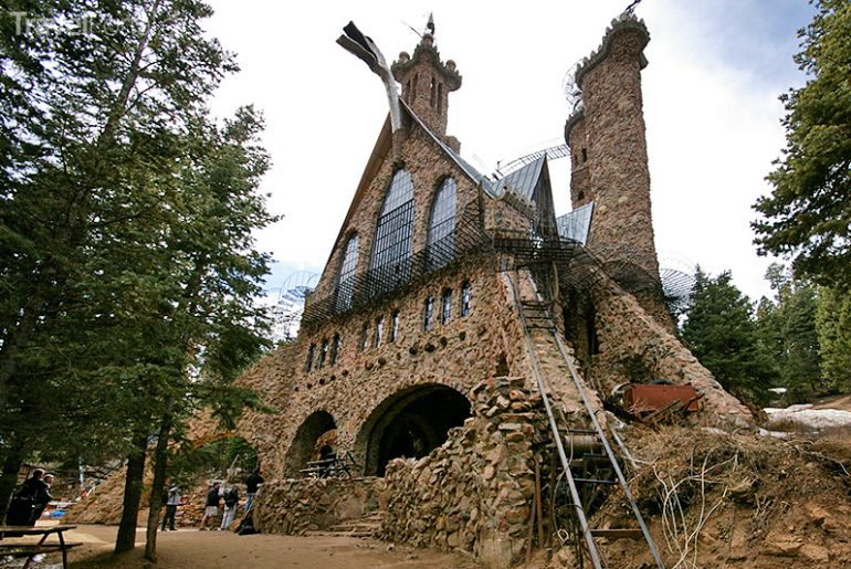 nejzvláštnější hrad na světě