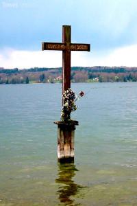 zde zemřel Ludvík II. Bavorský