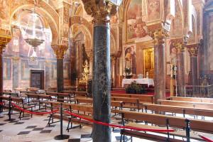 sloupy v katedrála v Córdobě