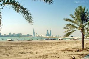 pláž Bahrajn
