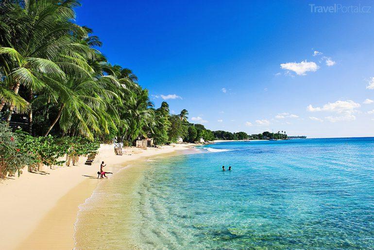 pláž Barbados