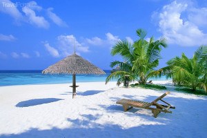 pláž Bahamy