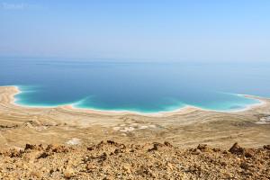 pohled na Mrtvé moře