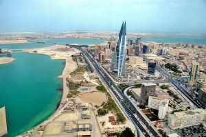 pohled na Bahrajn