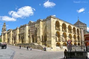 nádvoří katedrály v Córdobě