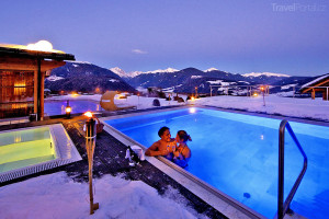 bazén Dolomity Itálie