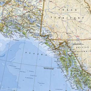 Aljaška mapa