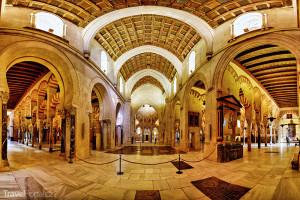 interiér katedrály v Córdobě