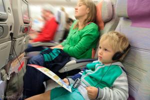 pravidla chování v letadle
