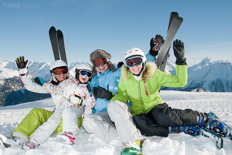 lyžování Švýcarsko