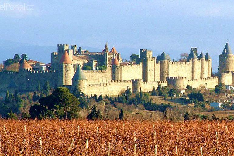 Carcassonne pevnost