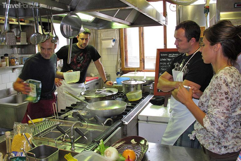 Kurz vaření s Rosannou Passione