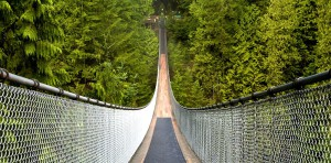 Capilano Suspension Bridge Kanada