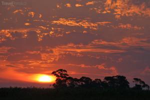 západ Slunce La Pampa