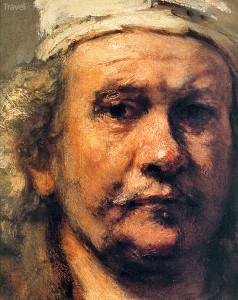 Rembrandt ve stáří