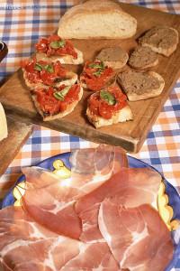 studená kuchyně Itálie