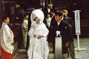 tradiční svatba Kamakura