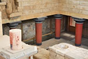 Palác Knossos na Krétě