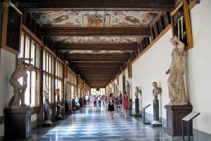 Uffizi interiér