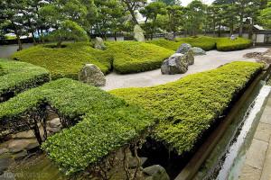 zahrada Kamakura Japonsko