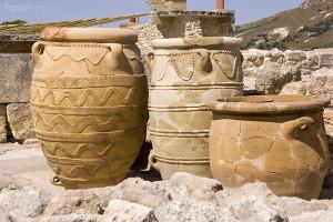 historické nádoby Palác Knossos