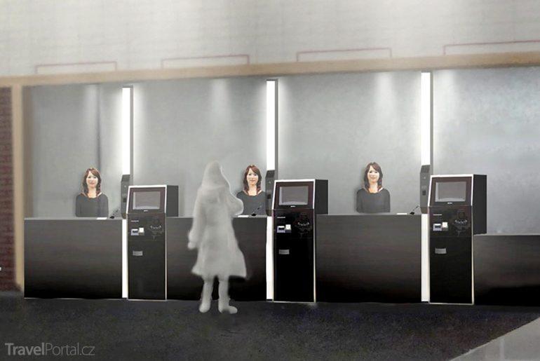 v Japonsku vás obslouží roboti