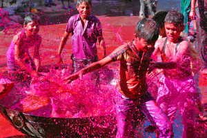 indický festival Holi