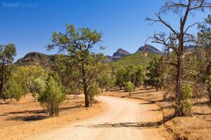 cesta Austrálie