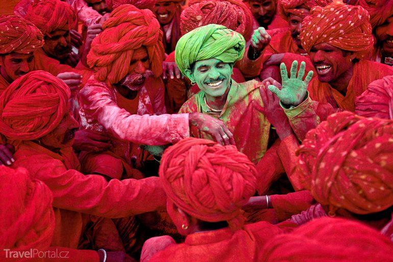 festival Holi 2015 v Indii