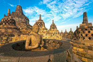Borobudur Yogyakarta Jáva Indonézie